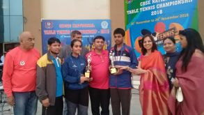 CBSE National Table-Tennis Championship-2018