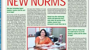 Principal Cum Director Manju Rana published in Times of India on 18 March 2021