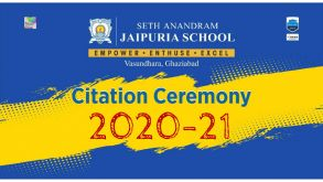 Citation Ceremony 2021- Reliving and Creating Memories – CLASS XII