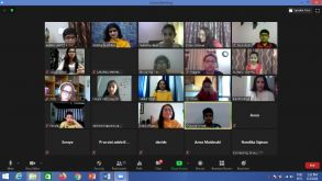 Virtual Exchange Programme With Italy Day – 1