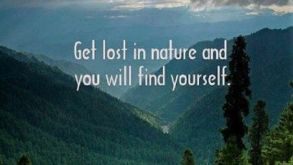 Come forth into the light of things, let nature be your teacher