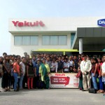 Industrial Visit at Yakult Danone India (P) Ltd for MBA batch 2015-17