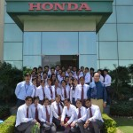 Industrial Visit to Honda Motorcycle & Scooter India Pvt Ltd., Gurgaon