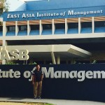 Casual day spent at East Asia Institute of Management, Singapore  by our Director