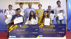 Felicitation Ceremony – Toppers of the Session 2018-19