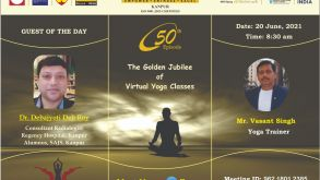 The Golden Jubilee of Virtual Yoga Sessions