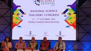 National Teacher's Science Congress 2018