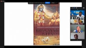 Bhagwat Gita Session Conducted on 9th October, 2021