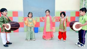 Baisakhi Celebration by Pre Primary