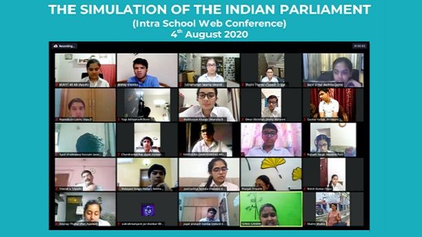 Simulation of the Indian Parliament