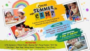 Online Summer camp – Discover the Joys of Childhood