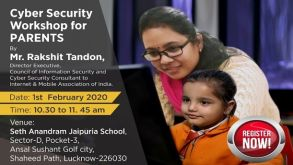 Cyber Security Workshop for Parents – Register Now