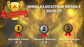Hindi Elocution Competition 2020