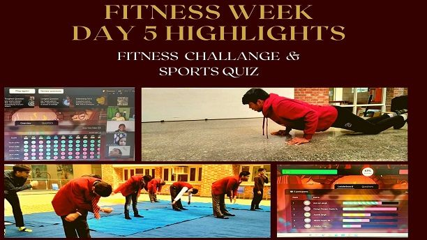 Fitness Week – Day 5