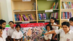 Inter House Collage Making Competition