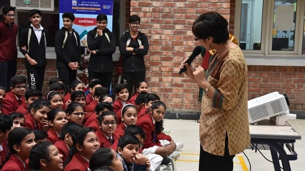 A Special Assembly on 7th March by Dr.Niti Kumar
