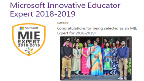37 Teachers As Microsoft Innovative Educator Experts