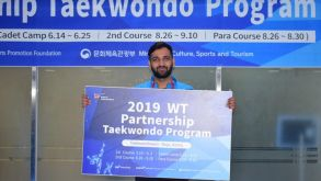 Taekwondo Coach Attends A Workshop At Muju South Korea