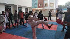 Our School Students Wins Bronze CBSE Taekwondo clusters