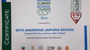 The Inspiring Climate School Award