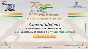 Fit India Freedom Run by Jaipurians