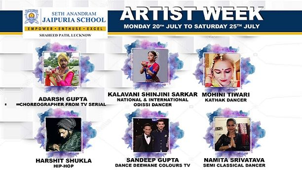 Artist Week at Seth Anandram Jaipuria School Lucknow