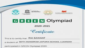 Green Olympiad Winners