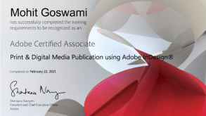 Jaipuria IT Teacher Mohit Goswami Wins Adobe Certification