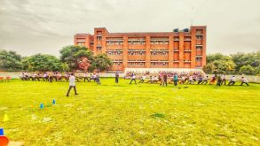 The School Playground Comes Alive Again…