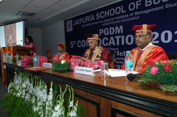 Convocation panel