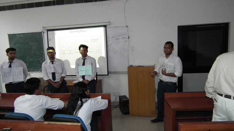 Students of PGDM 1st Year had an Role-Play Class Activity, during