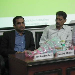 GUEST TALK – MR AMIT DUBEY & MR P.K. MISHRA