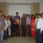 Group photograph taken after the guest lecture by Mr. Ashish Gupta