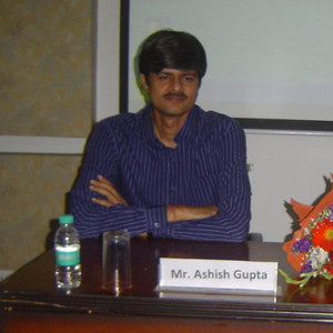 GUEST LECTURE BY MR. ASHISH GUPTA