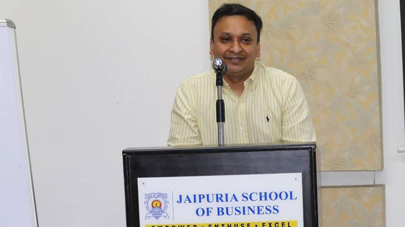 GUEST LECTURE BY MR. APURVA CHAMARIA