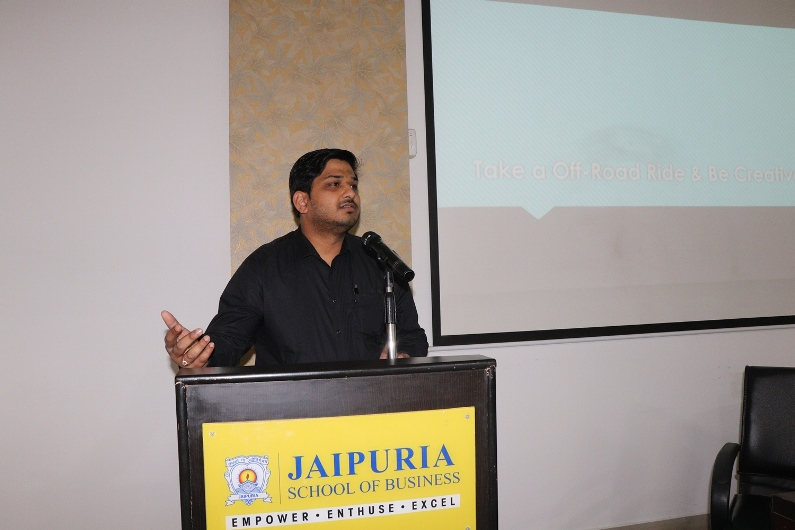 Guest Lecture on Opportunities and Scope in Event Management Industry – Mr. Arpit Singhal