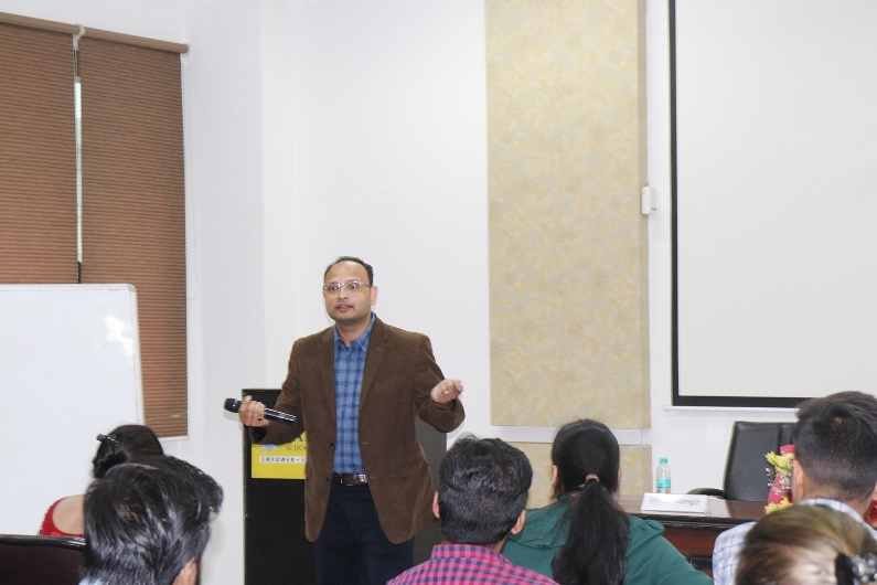 Guest Lecture by Mr. Mayur Ramgir