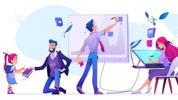 Teacher and new-age teaching