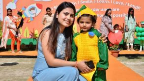 Walk THE Ramp-An initiative to inculcate healthy eating habits among little ones